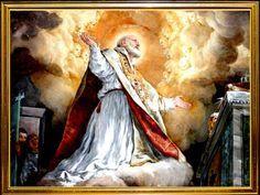 Glorioso San Felipe Neri, bendito santo de la alegría,  protector y auxiliador nuestro en la dificultad,  portu enorme caridad frater...