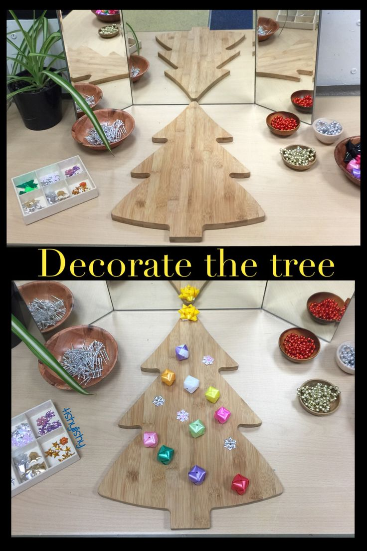 Finger Gym - decorate the tree.