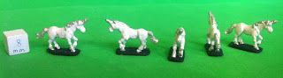 Unicorns, 10mm, Pendraken Miniatures