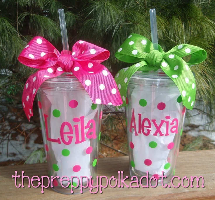 CLEAR Personalized Tumbler Cup with Lid & Straw - 16oz-straw cup