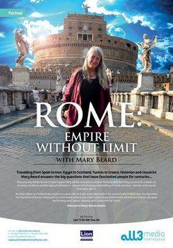 Безграничная Римская империя с Мэри Бирд — Mary Beard Ultimate Rome Empire Without Limit (2015) http://zserials.cc/dokumentalnye/mary-beard-ultimate-rome-empire-without-limit.php  Год выпуска: 2015 Страна: Великобритания Жанр: документальный Продолжительность:1+ выпусков Описание Сериала:  Мэри Бирд отправляется в увлекательное путешествие из Испании в Иран, из Египта в Шотландию, из Туниса в Грецию, чтобы ответить на самые волнующие вопросы о Древнем Риме. Она исследует его зарождение…