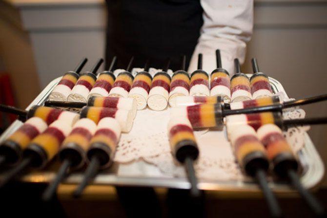 Idéias diferentes para um casamento ao ar livre   – Food and drink