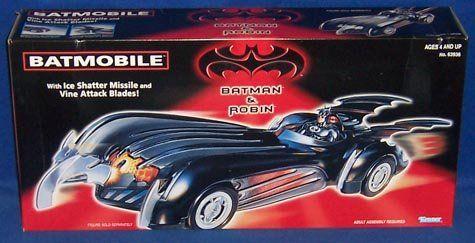 Batman and Robin Movie Version Batmobile @ niftywarehouse.com #NiftyWarehouse #Batman #DC #Comics #ComicBooks
