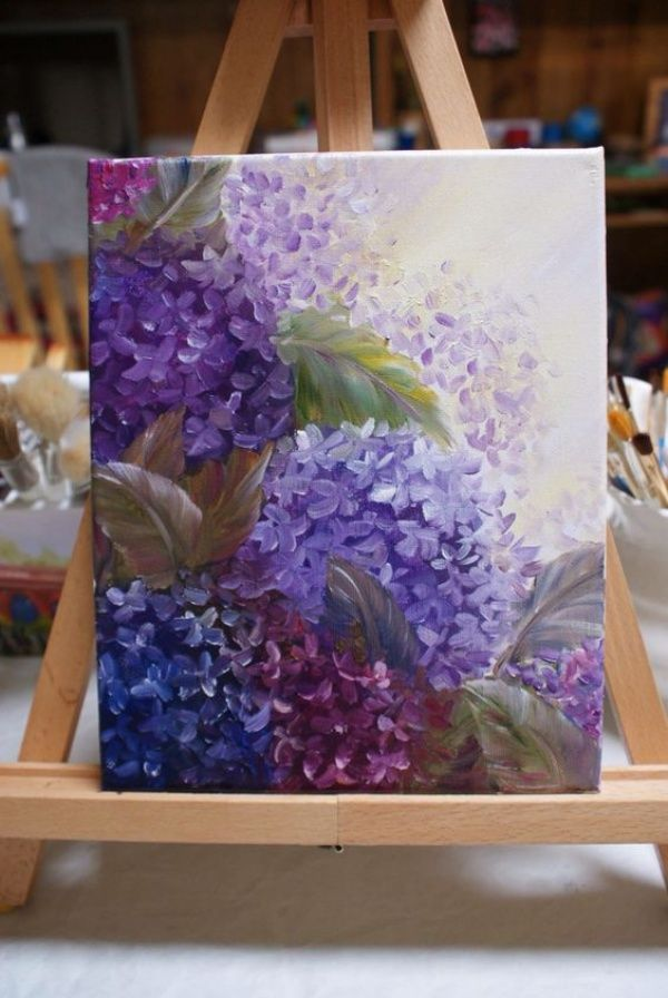 40 All Time Cutest Miniature Painting Ideas Flower Painting