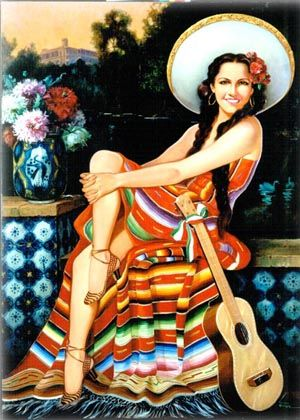 Obra de Jesús Helguera,  subido por: Xochipitzahuatl Miztli