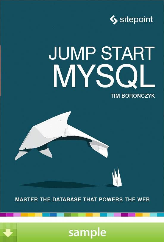 26 best books for geeks images on pinterest geek geeks and authors jump start mysql by timothy boronczyk download a free ebook sample and give book fandeluxe Choice Image