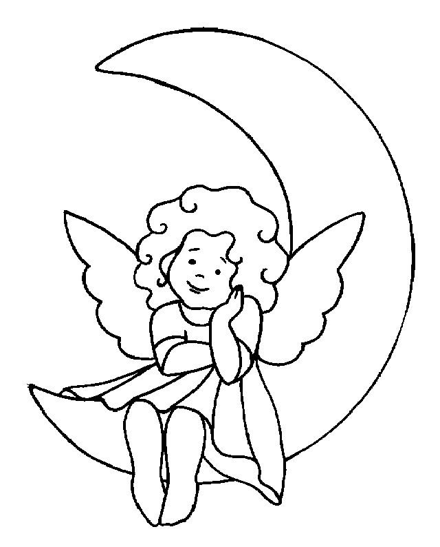 137 best Coloring Angel Fairy images on Pinterest Draw