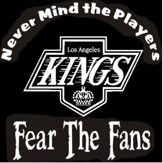 Custom Screen Printed T-shirt Los Angeles Kings Never Mind The