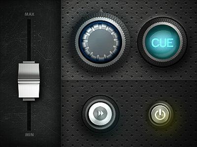 button/control design