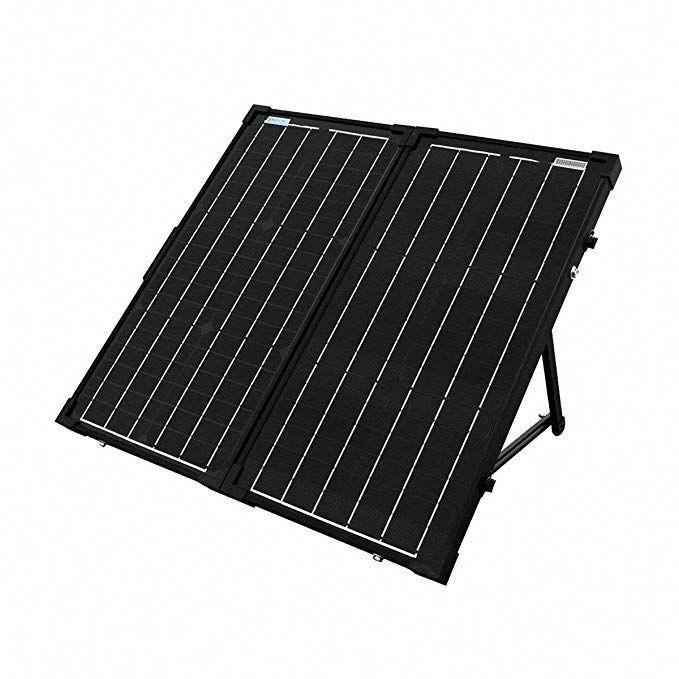 Acopower 60w Foldable Solar Panel Kit 12v Battery And Generator Ready Suitcase With Charge Controller Review In 2020 Solar Panels Best Solar Panels Solar Panel Kits