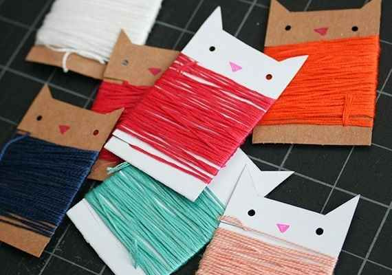 These little cool cats are basically wearing stylish tube dresses of string.
