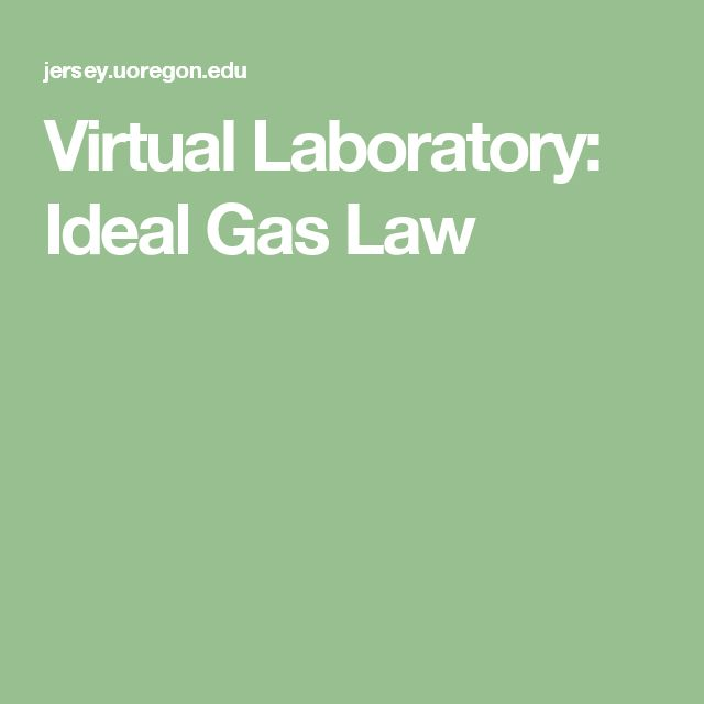 lab report on ideal gas law • individual lab report (all parts of lab required) o this will be marked on the lab rubric o additional marks will be awarded based on appropriateness and effectiveness of the lab this lab procedure is completely appropriate and successfully demonstrated the ideal gas law in a summative.