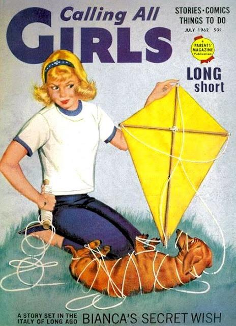 : Dachshund Dogs, Dogs News, Comic Books, Vintage Call, Girls July, July Dachshund, Girls Dachshund, July 1962, Girls Magazines
