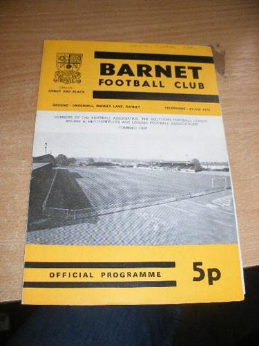 Away to Barnet FC  26/08/74  Southern League Cup  http://www.roehampton-online.com/About%20Us/Roehampton%20London.aspx?4231900