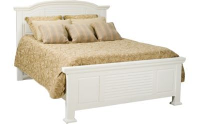 Bedrooms cottage retreat ii queen panel bed bedrooms havertys furniture 399 garage room Cottage retreat bedroom set