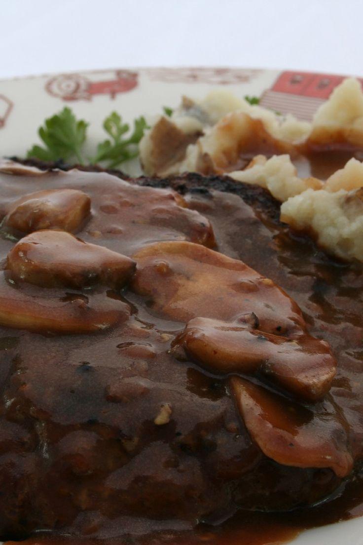 Weight Watcher Quick & Easy Salisbury Steak