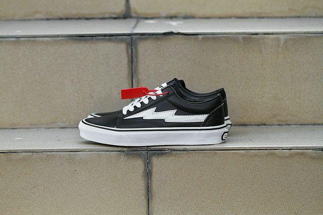 Vans Revenge X Storm Old Skool Black White Lasers Skate Shoe Amazon Recommend Vans For Sale Vans Old Skool Black Skate Shoes Vans