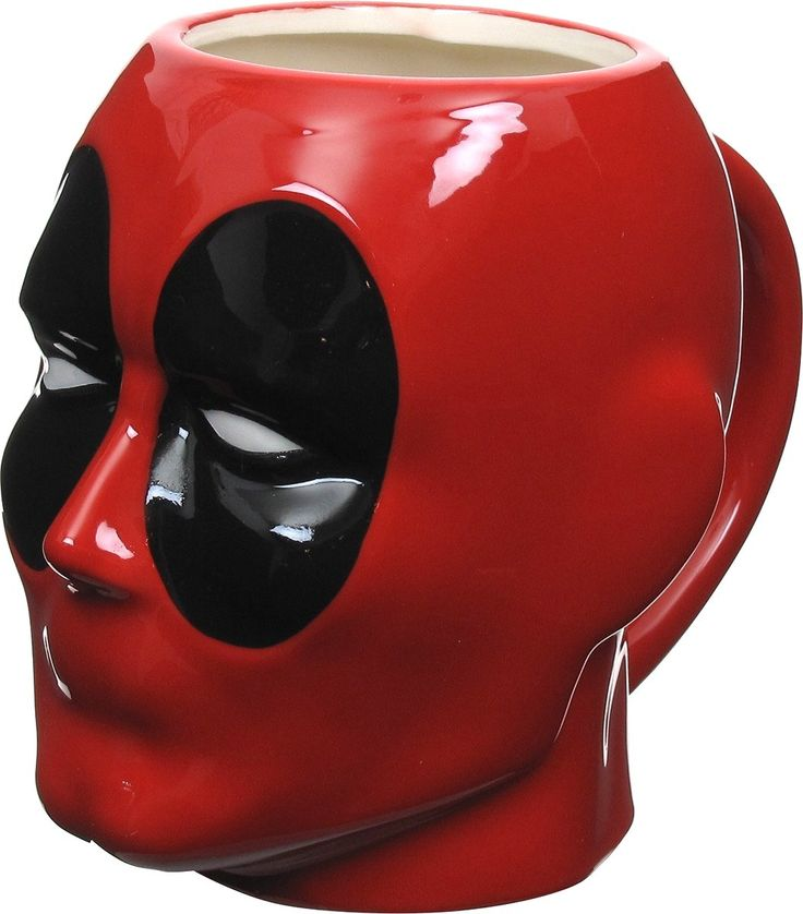 Deadpool Head Sculpted Mug  OFFICIALLY LICENSED PRODUCT.  GRAB YOURS NOW!  ORDER 2 OR MORE TO SAVE ON SHIPPING COST.   Shop this product here: spreesy.com/TeeStationUsa/8   Shop all of our products at http://spreesy.com/TeeStationUsa      Pinterest selling powered by Spreesy.com