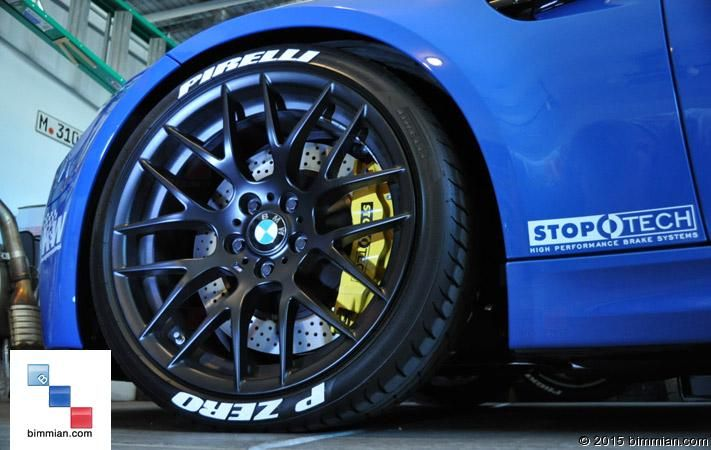 Raised Tire Lettering for BMW Vehicles [BIMMIAN]
