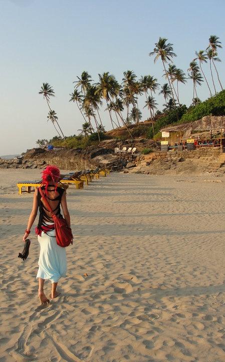 De lijspreuk van de verdwaalde hippies in Arambol is wel heel erg van toepassing: 'If you ever come to #Goa, you'll never go away' Goa, India