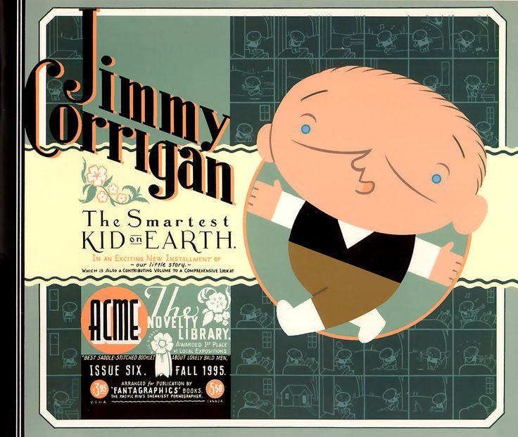 Chris #Ware - Jimmy #Corrigan, the smartest kid on Earth - This is a finely crafted, complex book that gets better with every chapter: Ware seems to have matured both as an artist and a person in the years it took to complete. While so many similar projects are little more than strings of striking images, Jimmy Corrigan forces you to pause, flick back a few pages and read again, rewarding you with another insight. It is a rare and uplifting example of an artistic vision pushed to the limits.