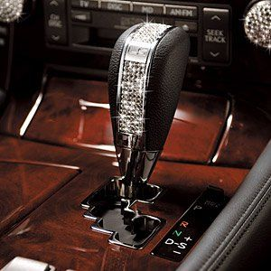 Diamond shifter - would like to have one in my car! :)