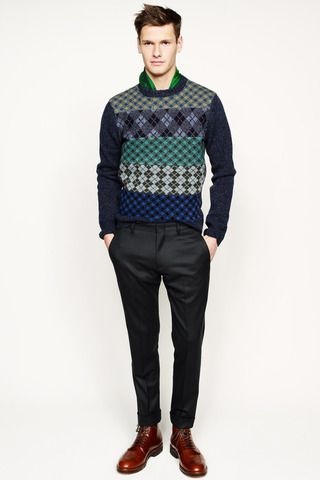 J.Crew Fall 2014 Menswear Collection Slideshow on Style.com