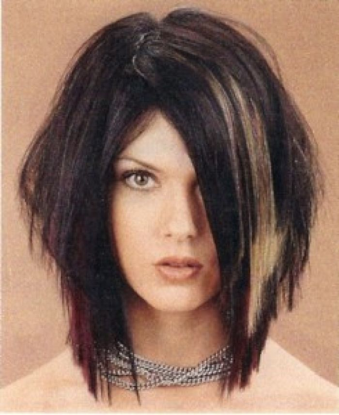 1000+ Ideas About Edgy Medium Haircuts On Pinterest