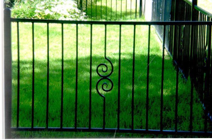 Best 25 Iron Fence Panels Ideas On Pinterest Concrete