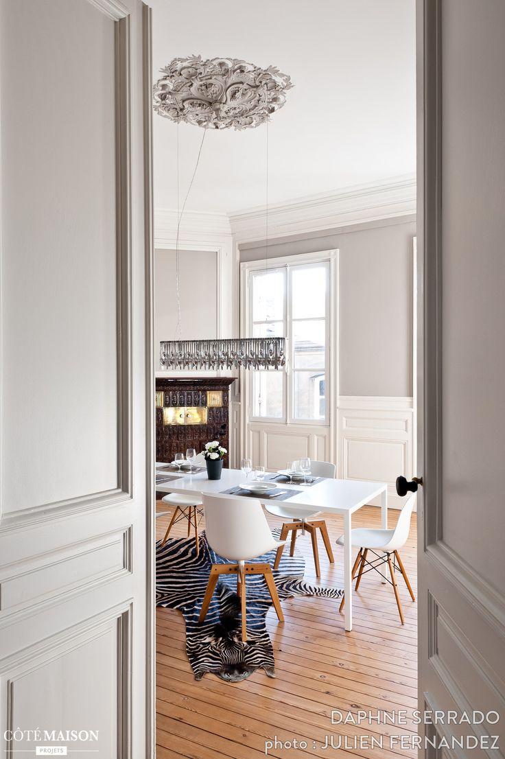 Haussmann apartment, Daphne Serrado - Side House