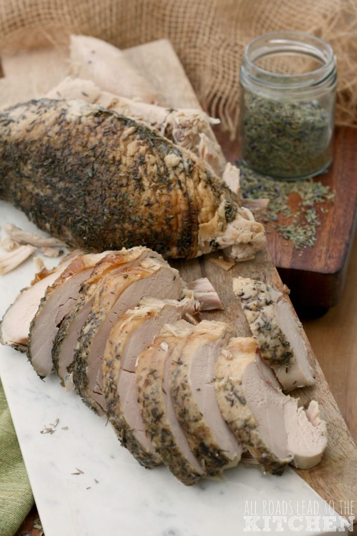 Slow Cooker Herbes de Provence Turkey Breast