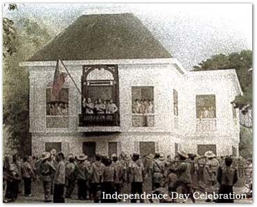 "The establishment of the Philippine Republic was the culmination of the Philippine Revolution against Spanish rule. On June 12, 1898, at Aguinaldo's ancestral home Cavite With this declaration, he became, in theory, the first president of the Philippine Republic. Aguinaldo is best remembered with his famous line: ""We may lose hope in winning this battle for freedom because of inadequate force in terms of weapon, but one thing is never lost, our dream to die for the cause of true…"