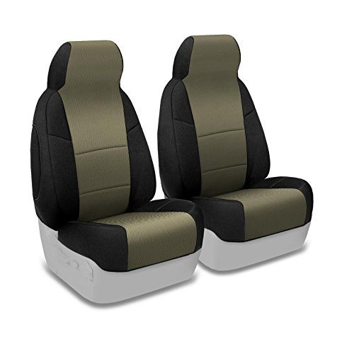 Coverking Custom Fit Front 5050 Bucket Seat Cover for Select Volvo S70 Models  Spacermesh 2Tone Taupe with Black Sides ** You can get additional details at the affiliate link Amazon.com.