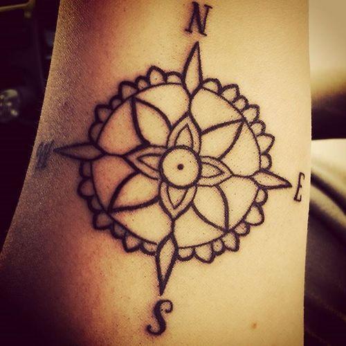 Compass tattoo tumblr patterns amp designs pinterest compass
