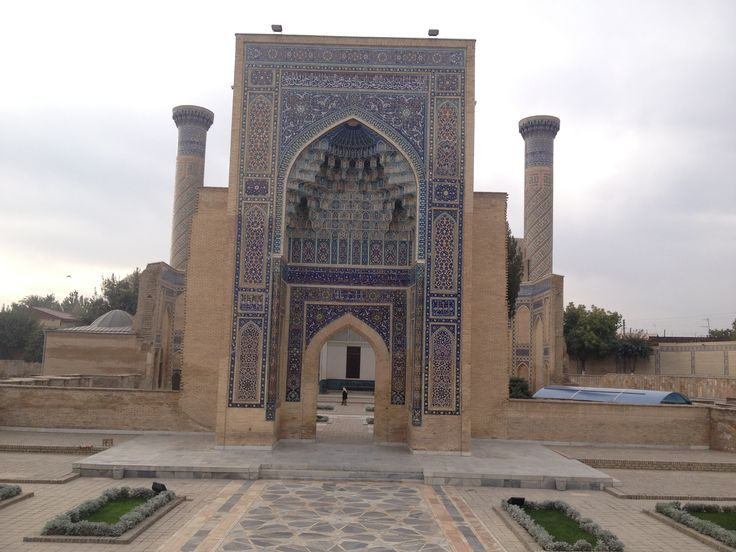 Guri Amir Mausoleum – Amir Temur's burial-vault is one of the best samples of the medieval Oriental architecture and one of the most significant monuments of Temurides' times. Its construction was initiated by Amir Temur in the autumn of 1404.