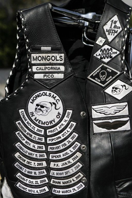 Mongols Motorcycle Club Patches