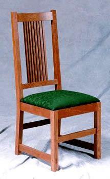 Craftsman Chair - Swartzendruber Furniture Creations