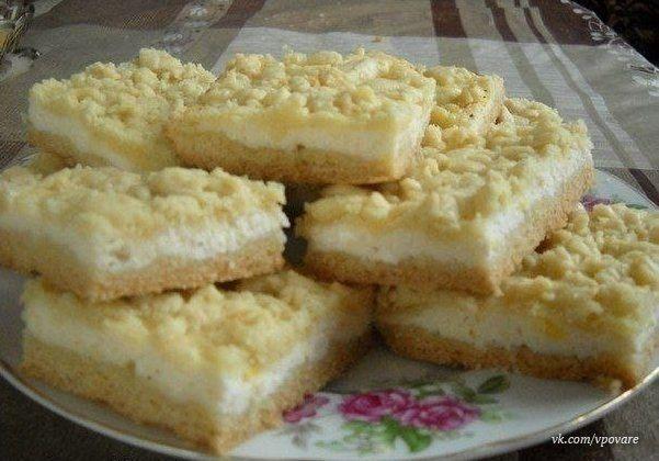 Рецепт пирожков с творогом духовке фото