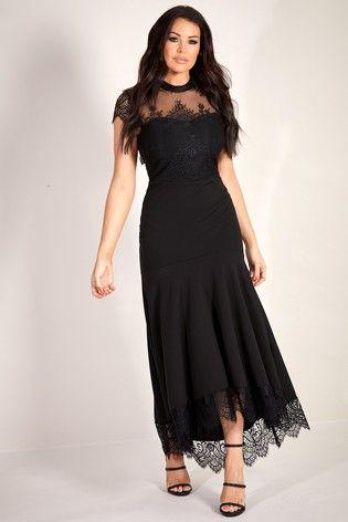 44056029af4 Sistaglam Loves Jessica Fishtail Maxi Dress