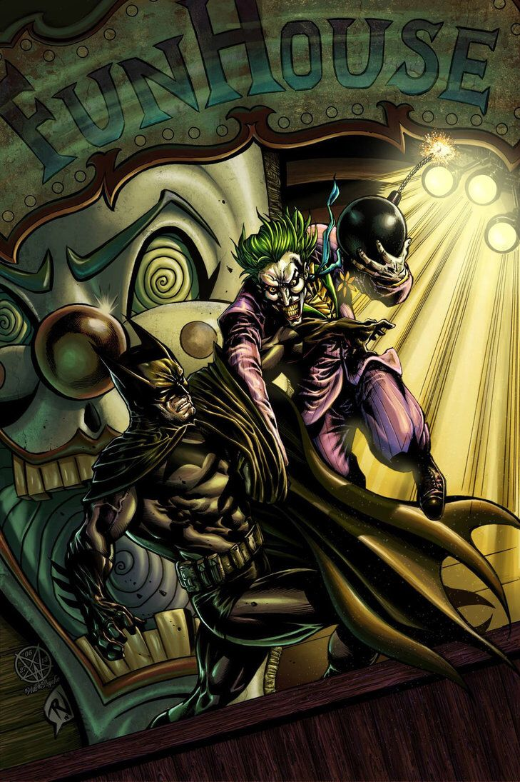 Batman Vs Joker By Rudyvasquez On Deviantart Batman Vs Joker