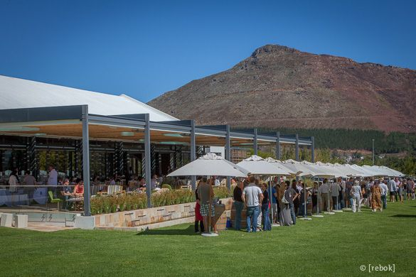 Franschhoek Summer Wines 2012 at Leopard's Leap Vineyard