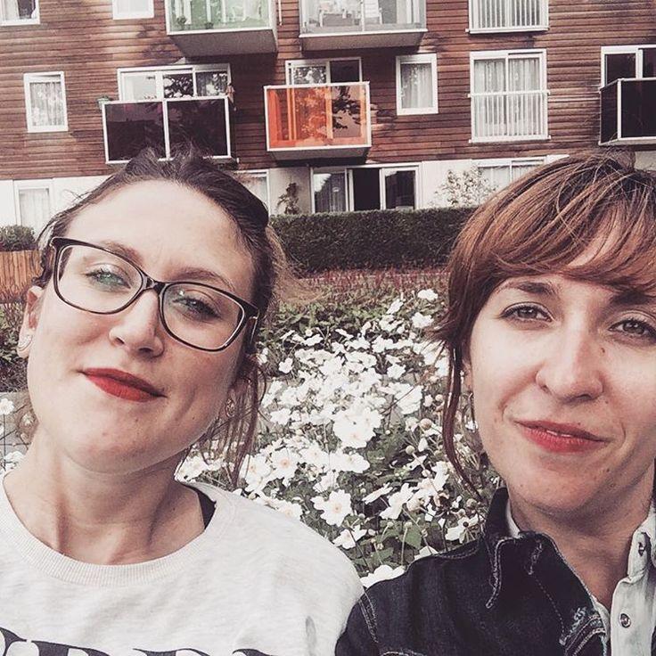"""Flowers&housing #amsterdam #dutchess #mvrdv #architecturelovers #friendship"""