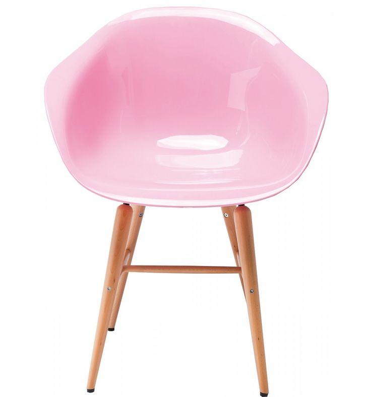 Sedia Forum Wood Rosa Set/4 Kare Design