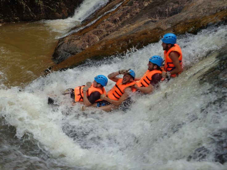 Canyoning in Dalat with Dalat Passion Tours