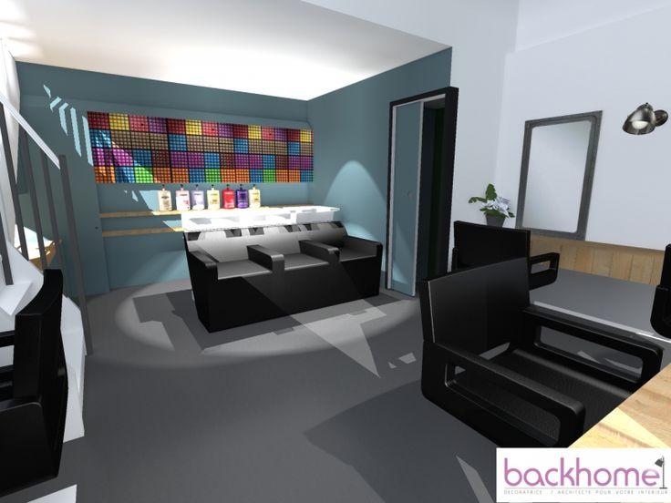 Relooking d\'un salon de coiffure - décoration et architecture ...