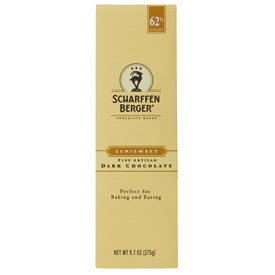 Scharffen Berger professional grade chocolate   Our 62% Cacao Semisweet Choco…