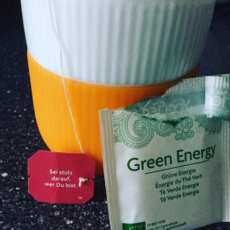 #startmyday #yogitea #greenenergy #grünehauptstadteuropas2017 #haveaniceday #instadrink #instahealth