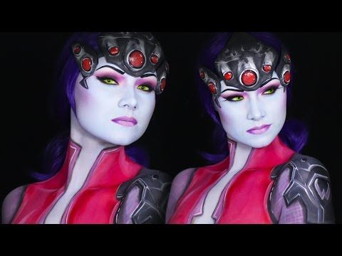 Widow Maker Overwatch Makeup/Cosplay Tutorial - YouTube
