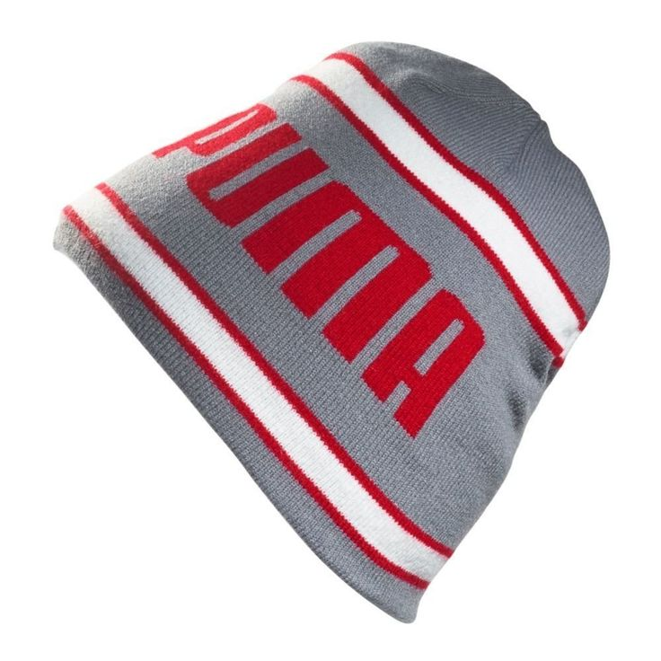 Made from 100% acrylic these mens stripe fleece golf beanie hats by Puma offer exceptional protection against the wind and cold!