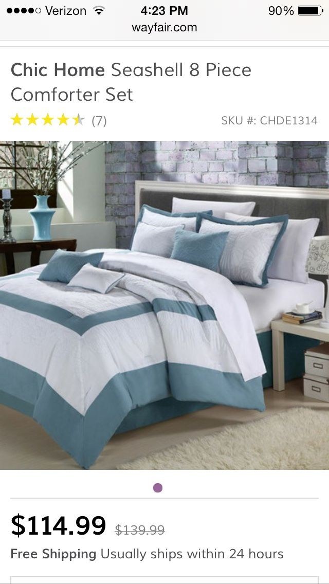 home decor bedroom ideas chic home seashell comforter set queen blue